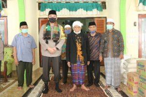 Kapolda NTB Kunjungi Tokoh Ulama Di Lombok Tengah