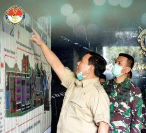 Menhan RI Inspeksi Peninjauan Kesiapan Fakultas dan Program Studi S1 Unhan