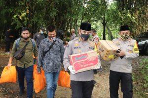 Ditengah Pandemi Corona, Polda Banten Terus Peduli Kepada Warga Terdampak