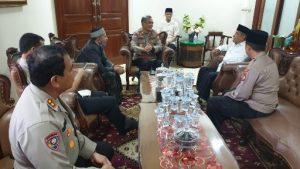 Ketua PBNU Prof.DR.KH.Said Aqil Sirodz Terima Kunjungan Silaturahmi Dirbinmas Polda Metro Jaya