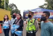 Pemuda Indonesia Timur Bagikan Makanan dan APD Bersama GCI
