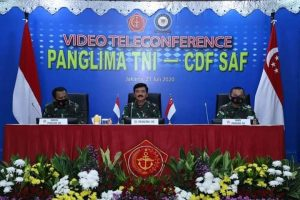 Panglima TNI dan Pangab Singapura Bahas Latihan dan Kerja Sama Militer