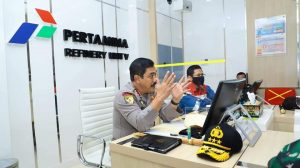 Supervisi Pengamanan Objek Vital Nasional, Kabaharkam Polri Kunjungi Pertamina Refinery Unit V Balikpapan