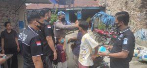 Kasat Res Narkoba Polres Batu Bara, Sampaikan Adaptasi Kebiasaan Baru dan Berikan Masker Gratis di Desa Sumber Padi