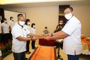 Ini Pesan Ketua Pertina NTB Kepada Pengurus Pertina Lombok Barat Periode 2020-2023