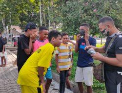 Aksi Bersih-Bersih Usia Olahraga Bersama di Alun-alun Atambua