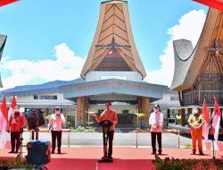 Presiden Jokowi Resmikan Bandara Toraja