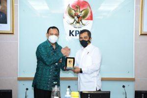Kabareskrim Polri Silaturahmi ke Pimpinan KPK Bahas Koordinasi Pemberantasan Korupsi