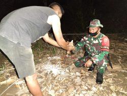 Merasa Dekat, Warga Serahkan Mortir Kepada Satgas Pamtas RI-RDTL Sektor Timur