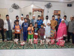 PK KNPI Kec. Wampu Melakukan Kegiatan Safari Ramadhan dan Pembagian Santunan Anak Yatim