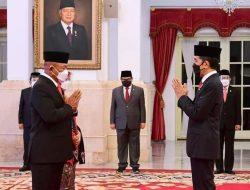 Sah! Presiden Jokowi Lantik Ganip Warsito Sebagai Kepala BNPB