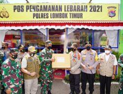 Forkopimda NTB Cek Kesiapan Pos Pengamanan Idul Fitri di Lombok