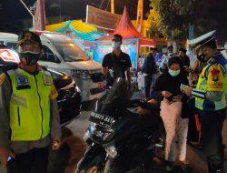 Kapolres Sergai Pimpin PenyekatanKendaraan Malam Takbiran, Ratusan Kendaraan Di Putar Balik