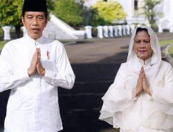 Presiden Jokowi dan Ibu Negara Sampaikan Ucapan Hari Raya Idulfitri 1442 H
