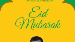 Wakil Ketua Partai Golkar Sumbawa Zohran 'Orek' : Selamat Hari Raya Idul Fitri 1442 Hijriah