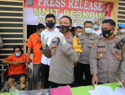 Polres Sergai Tangkap Pembunuh Janda dan Penadah Barang Curian
