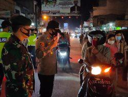Kapolres Sergai Pimpin Penyekatan Kendaraan Malam Takbiran, seratusan Kendaraan Di Putar Balik
