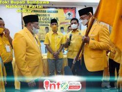 Tok! Bupati Sumbawa H. Mo Nahkodai Partai Golkar