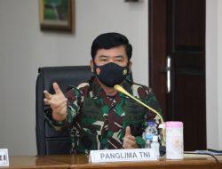 Panglima TNI Tegaskan 4 Pilar Tegakkan PPKM Mikro di Madiun