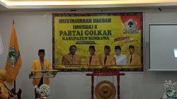 Mohan Roliskana: Inilah Awal Kebangkitan Partai Golkar di Sumbawa