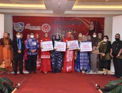 Ketua Dekranasda Batu Bara Buka Lomba Fashion Show Hijab Wastra Batu Bara