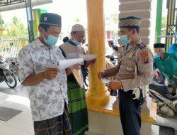 Unit Dikyasa Sat Lantas Polres Sergai Tanpa Bosan Imbau Masyarakat Cegah Covid-19