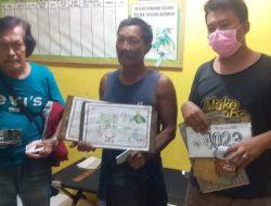 Asik Bermain Judi Togel, Polsek Tanjung Beringin Amankan 3 Orang Di Sebuah Warung Kopi