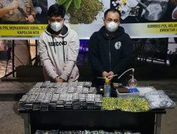 Ditresnarkoba Polda NTB Tangkap Pelaku Oplosan Obat Terlarang Di Pengenjek Loteng.