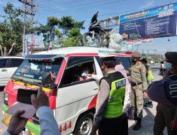 Guna Mendukung PPKM, Polres Sergai Melaksanakan Pos Terpadu Penyekatan di Simpang Tiga Perbaungan