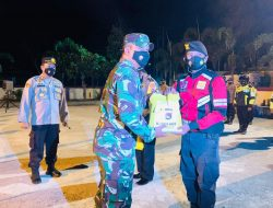Satgas Covid -19 Sumbawa Barat Patroli Cegah Penyebaran Covid 19 Dan Berikan Bantuan Sembako