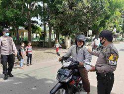 Ops Yustisi Dengan Humanis, Polres Sergai Giatkan KRYD dan PPKM di Kecamatan Kotarih