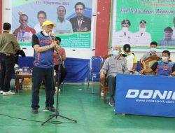 """Bupati Sumbawa Apresiasi Pergelaran Kejuaran Tenis Meja """"Gemilang Cup"""""""