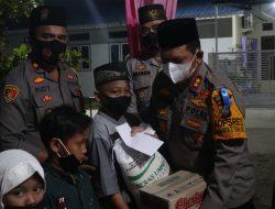 Kapolres Batubara Bersama PJU Nya Silaturahmi Dengan Perwiritan Al-Ikhwan Di Desa Pulau Sejuk.
