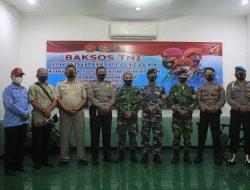 Sambut HUT Ke 76 TNI, Kodim 0808/Blitar Kerjasama Dengan PMI Gelar Donor Darah.