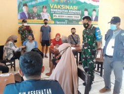 Kecamatan Janapria Kabupaten Loteng melampaui Target harian 104 %