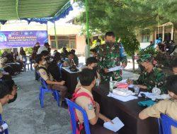 Danrem 162/WB Apresiasi Animo & Kesadaran Masyarakat Kecamatan Praya Sukseskan Serbuan Vaksinasi Covid-19