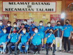 Andi Lestari, Apresiasi Karang Taruna Kecamatan Talawi Yang Bagikan Masker Ke Masyarakat