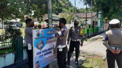 Satlantas Polres Sumbawa Tingkatkan disiplin Terhadap  Pengendara