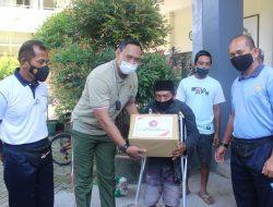 Sambut HUT TNI Ke-76, Korem 162/WB Gelar Baksos Pembagian Paket Sembako, Donor Darah dan serbuan Vaksinasi Covid-19