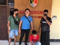 Tim Puma Polres Dompu Amankan Seorang Pemuda Terduga Sebagai Pelaku Pemanahan