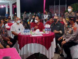 Kapolres Batubara AKBP Ikhwan Lubis, Bersama Wamen Desa PDTT Budi Arie Setiadi Hadiri Vaksinasi Nasional