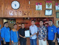 Sekretaris Panitia Musda KNPI Sulianto, Terima Pendaftaran Calon Ketua DPD KNPI Mukhrizal Arif M.Pd
